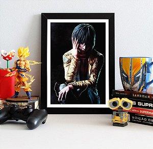 Quadro Decorativo Mikasa - Shingeki no Kyojin - QSK04
