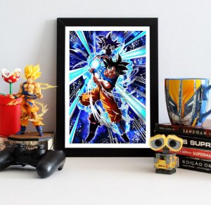Quadro Decorativo Goku Superior - Dragon Ball - QV111
