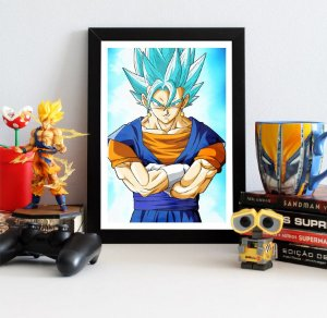 Quadro Decorativo Vegetto Blue - Dragon Ball - QV102