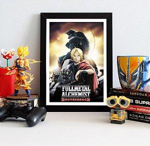 Quadro Decorativo Edward e Alphonse - Fullmetal Alchemist - QV94