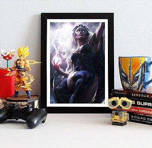 Quadro Decorativo Marvel - Storm X-men - QMC18
