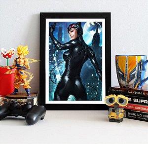 Quadro Decorativo DC - Catwoman - QDC23