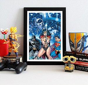 Quadro Decorativo DC - Trinity of Infinite Crisis - QDC17