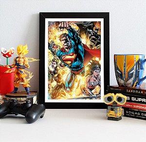 Quadro Decorativo DC - Justice League New 52 - QDC16