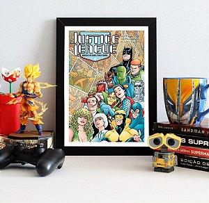 Quadro Decorativo DC - Justice League International - QDC15