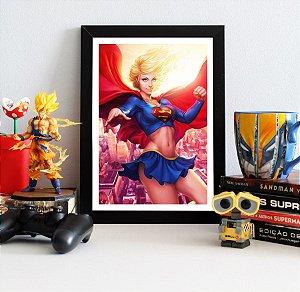 Quadro Decorativo DC - Beauty Supergirl - QDC09