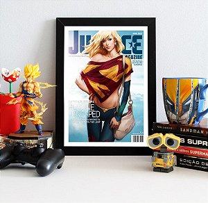 Quadro Decorativo DC - Supergirl Justice - QDC05