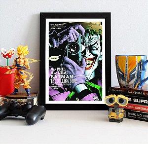 Quadro Decorativo DC - Batman The Killing Joke - QDC03
