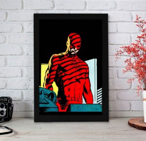 Quadro Decorativo Marvel - Demolidor Blind Justice - QMC14