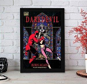 Quadro Decorativo Marvel - Daredevil Born Again - QMC13