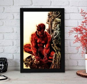 Quadro Decorativo Marvel - Demolidor Red Fear - QMC11