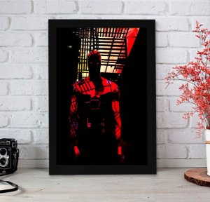 Quadro Decorativo Marvel - Demolidor Hell's Kitchen - QMC10