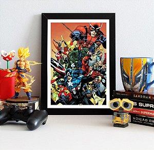 Quadro Decorativo Marvel - The Avengers Secret Invasion