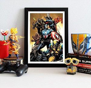 Quadro Decorativo Marvel - The New Avengers - QMC06