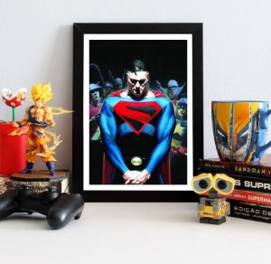 Quadro Decorativo DC - Superman Kingdom Come - QDC12