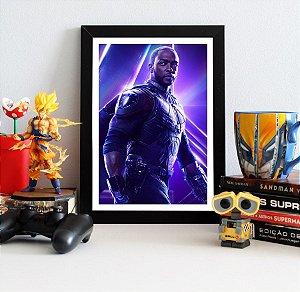 Quadro Decorativo Avengers Infinity War - Falcão