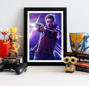 Quadro Decorativo Avengers Infinity War - Star-Lord