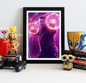 Quadro Decorativo Avengers Infinity War - Wong