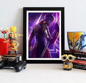 Quadro Decorativo Avengers Infinity War - Okoye
