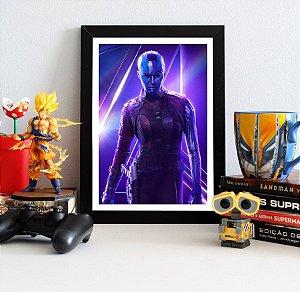 Quadro Decorativo Avengers Infinity War - Nebula
