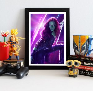Quadro Decorativo Avengers Infinity War - Gamora