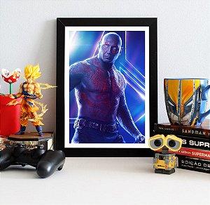 Quadro Decorativo Avengers Infinity War - Drax
