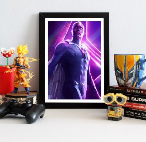 Quadro Decorativo Avengers Infinity War - Vision