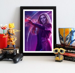 Quadro Decorativo Avengers Infinity War - Scarlet Witch