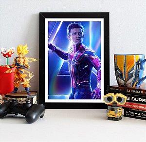 Quadro Decorativo Avengers Infinity War - Spider-Man