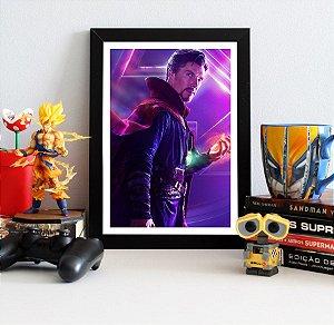 Quadro Decorativo Avengers Infinity War - Doctor Strange