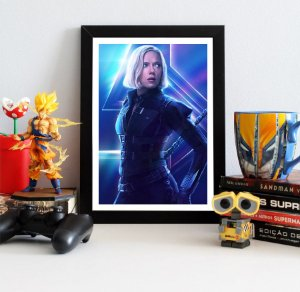 Quadro Decorativo Avengers Infinity War - Black Widow