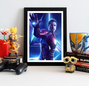 Quadro Decorativo Avengers Infinity War - Iron Man
