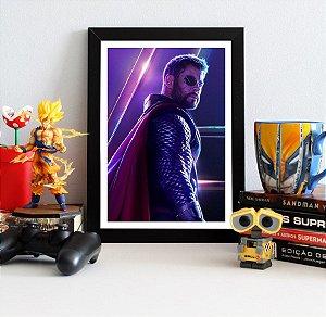Quadro Decorativo Avengers Infinity War - Thor