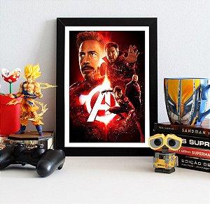 Quadro Decorativo Avengers Infinity War - QAVI20