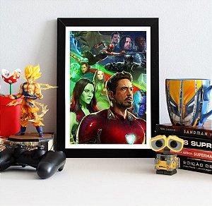 Quadro Decorativo Avengers Infinity War - QAVI17