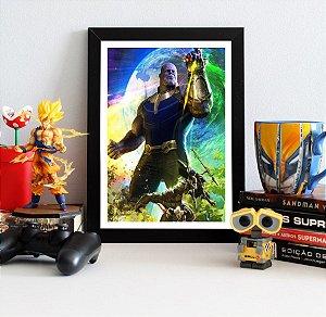 Quadro Decorativo Avengers Infinity War - Thanos