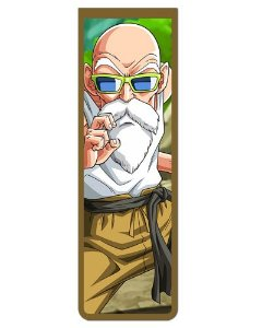 Marcador De Página Magnético Mestre Kame - Dragon Ball - MAN163