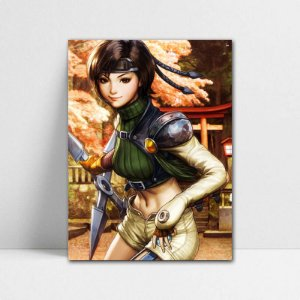 Poster A4 Yuffie - Final Fantasy - PT385