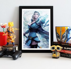 Quadro Decorativo Crystal Maiden - Dota 2 - QV389