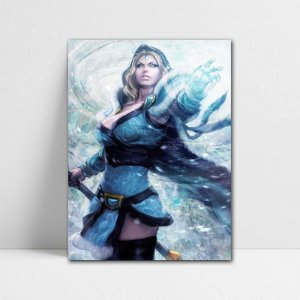 Poster A4 Crystal Maiden - Dota 2 - PT389