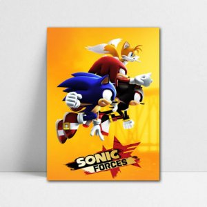 Poster A4 Sonic Forces - Sonic - PT396