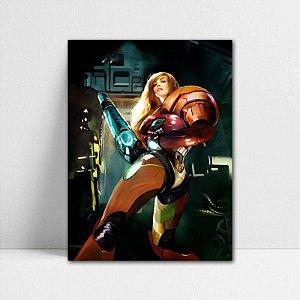Poster A4 Samus Aran - Metroid - PT398