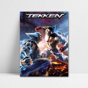 Poster A4 Tekken - PT405