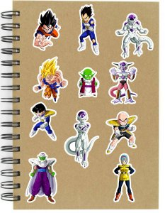 Adesivos Dragon Ball Set D - Saga Freeza - 12 unid
