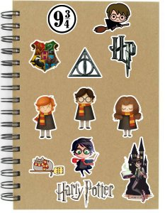 Adesivos Harry Potter Set A - 12 unid