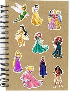 Adesivos Princesas Disney Set B - 10 unid
