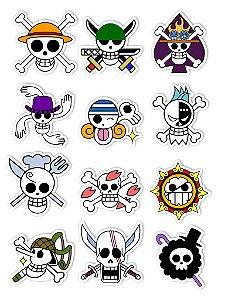 Ímãs Decorativos One Piece Set A - 12 unid