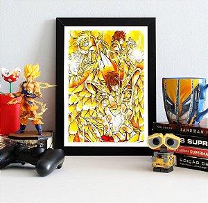 Quadro Decorativo The Lost Canvas - Saint Seiya - QV476