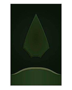 Ímã Decorativo Arqueiro Verde - Arrow - IQD04