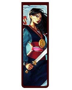 Marcador De Página Magnético Mulan - Disney - MPD117